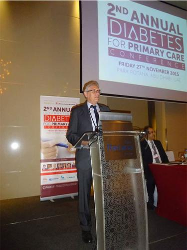 2nd Diabetes Primary Care Forum- 27 Nov 15- Abu Dhabi