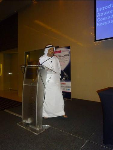 Eustachian Tube Symposium- 11 Sept 15- Abu Dhabi